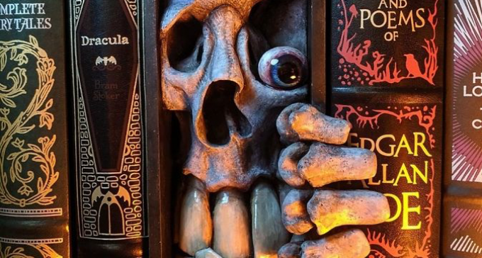 Te książki dosłownie wciągają, dzięki pomysłowym grzbietom 3D