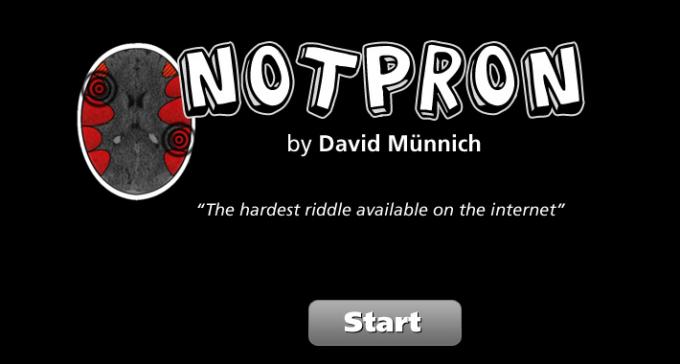 Notpron - najtrudniejsza łamigłówka w internecie