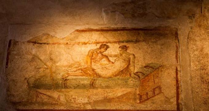 Pompeje: Erotyczne freski w burdelach oznaczały specjalność prostytutki
