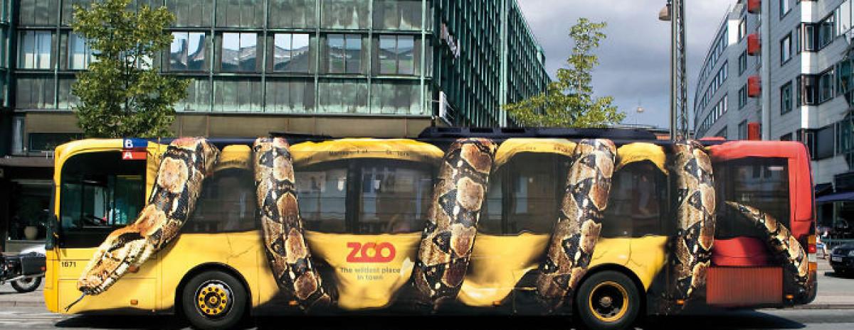 Najciekawsze i najbardziej kreatywne reklamy na autobusach