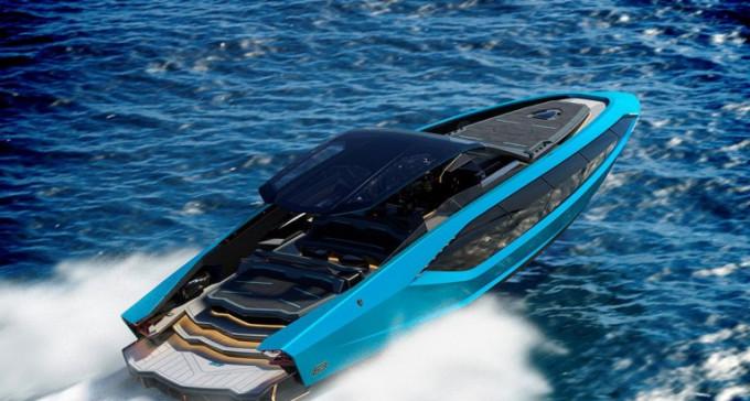Lambo na wodzie, czyli nowy, luksusowy jacht od Lamborghini