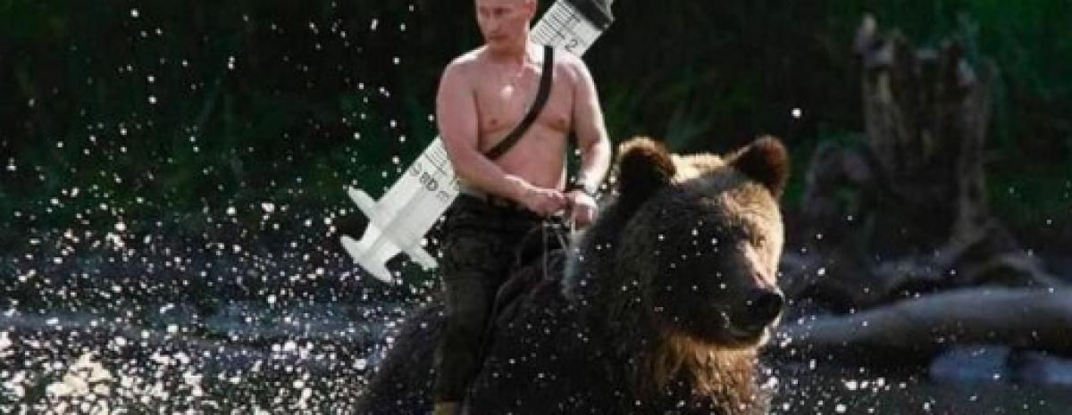Dumał, dumał i szczepionkę wydumał, czyli jak Putin zwalczył koronawirusa