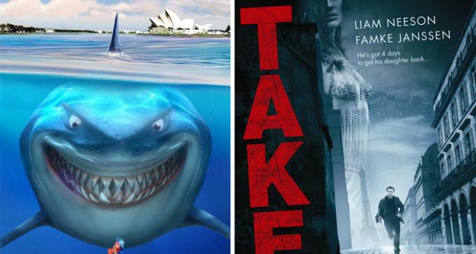 16 niezwiązanych ze sobą filmów, które można opisać tym samym zdaniem