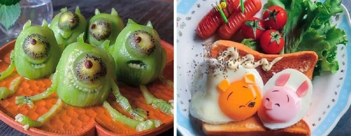 Pyszne loszki i kowidki: japońska InstagraMamuśka wymyśla niesamowite dania dla dzieci