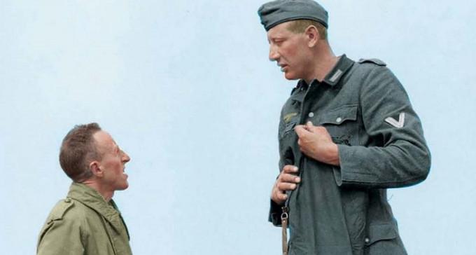 Najwyższy nazista: Jakob Nacken o wzroście 221 centymetrów