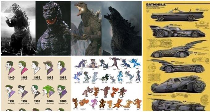 Ewolucja w  świecie kina - jak zmienili się bohaterowie słynnych serii