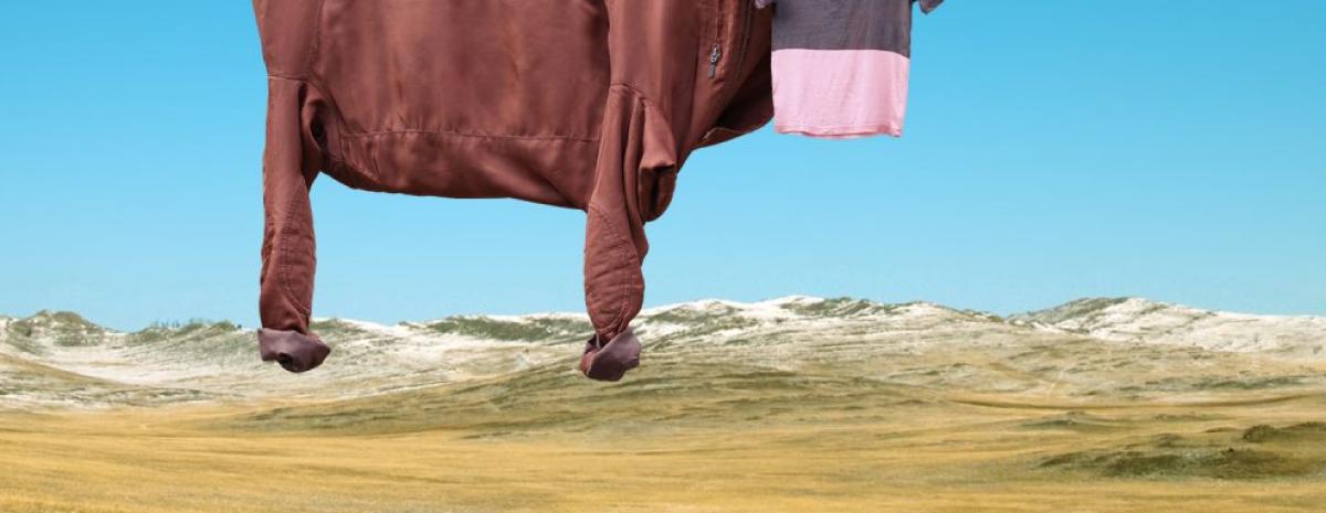Helga Stentzel - artystka, która z ubrań tworzy iluzję zwierząt