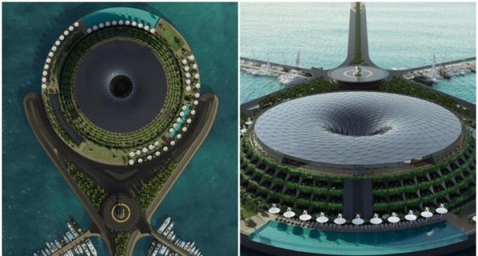 Tak się kaszle w Katarze: powstaje kosmiczny Eco Hotel obrotowy