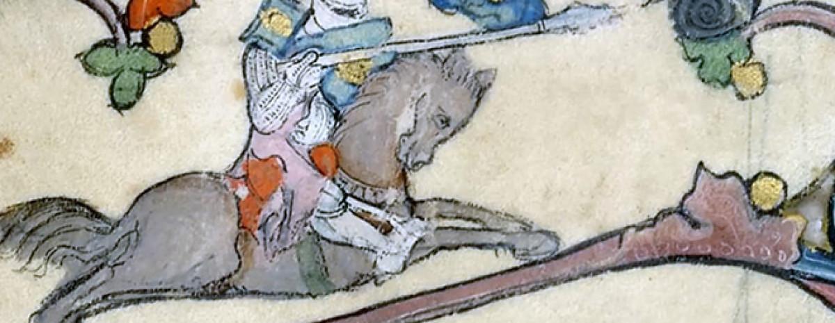 Dlaczego średniowieczne ryciny przedstawiają rycerzy walczących ze ślimakami?