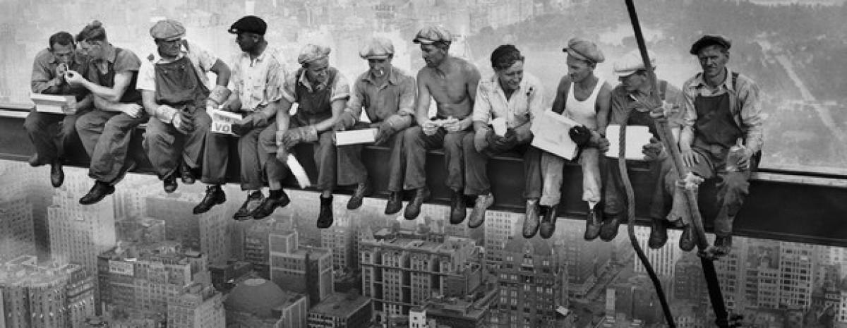 Historia słynnej fotografii: Lunch na dachu drapacza chmur
