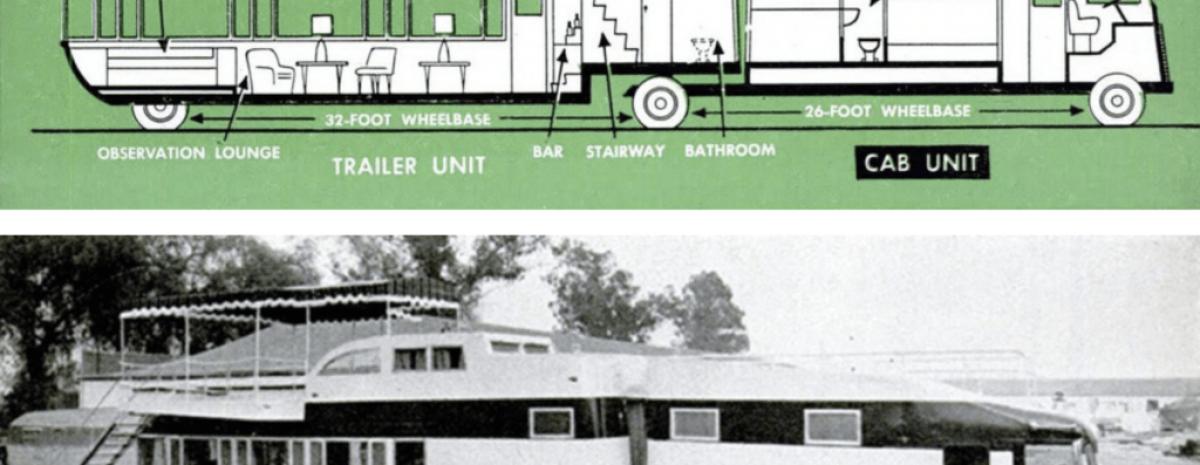Szalony Camper Marzeń: Executive Flagship z 1952 roku